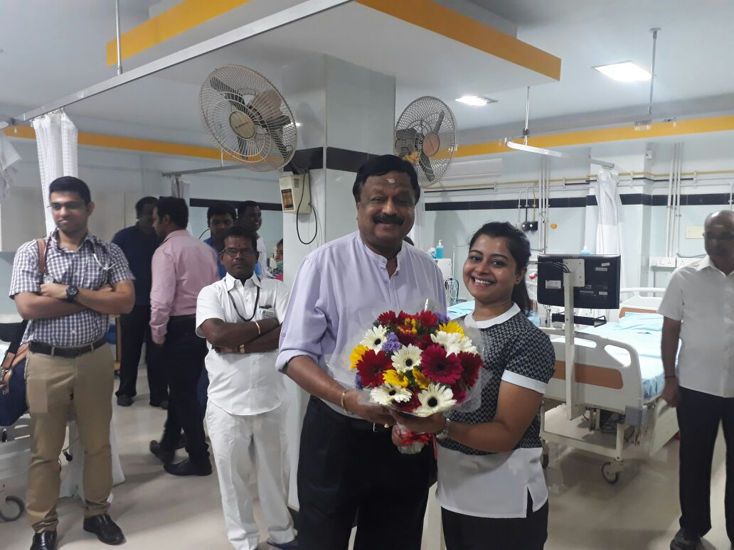 A leading Provider of Kidney care is now at Our Sooriya Hospital